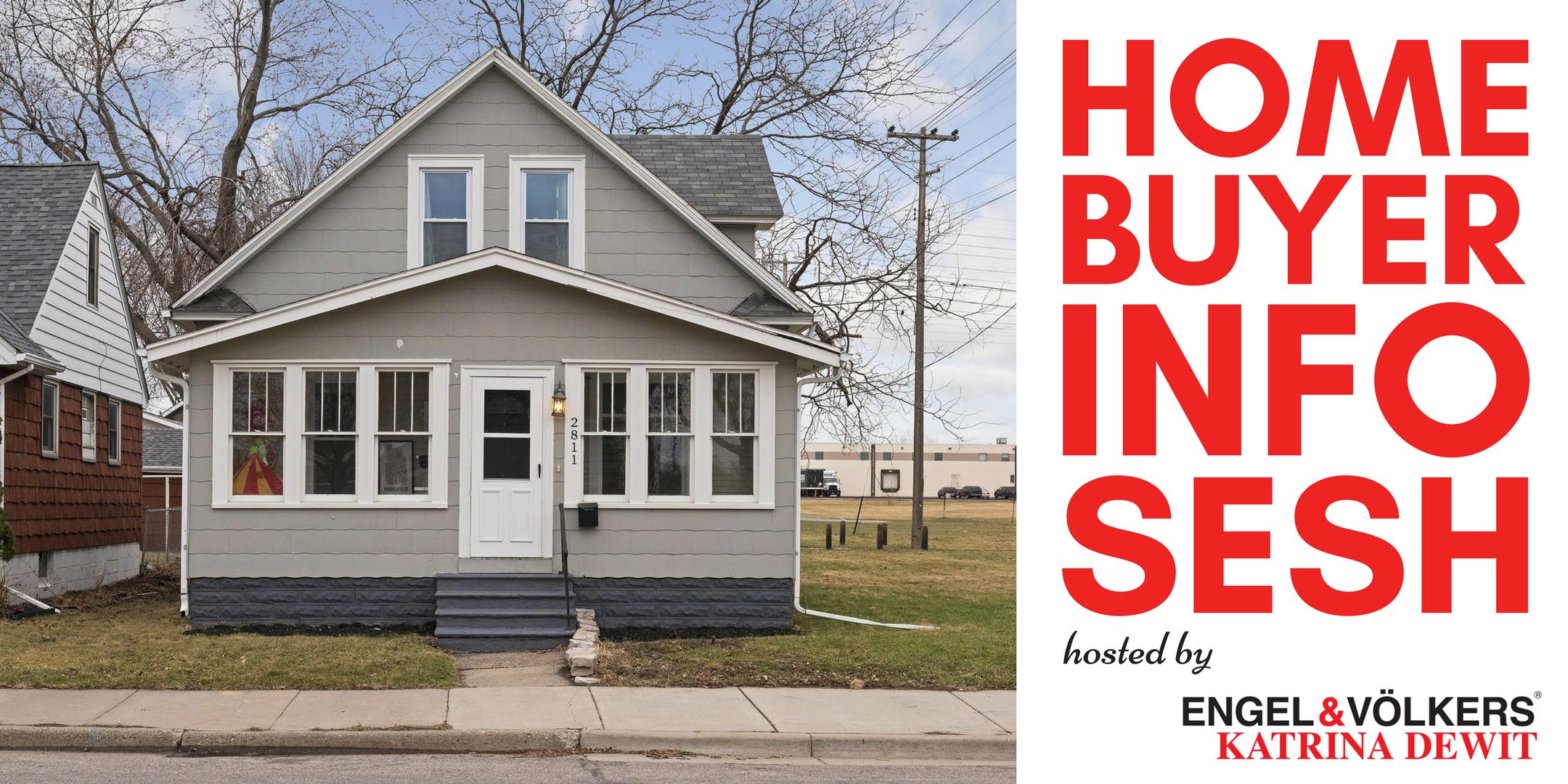 Home Buyer Info Sesh