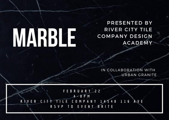 River City Tile Company Presents: Marble