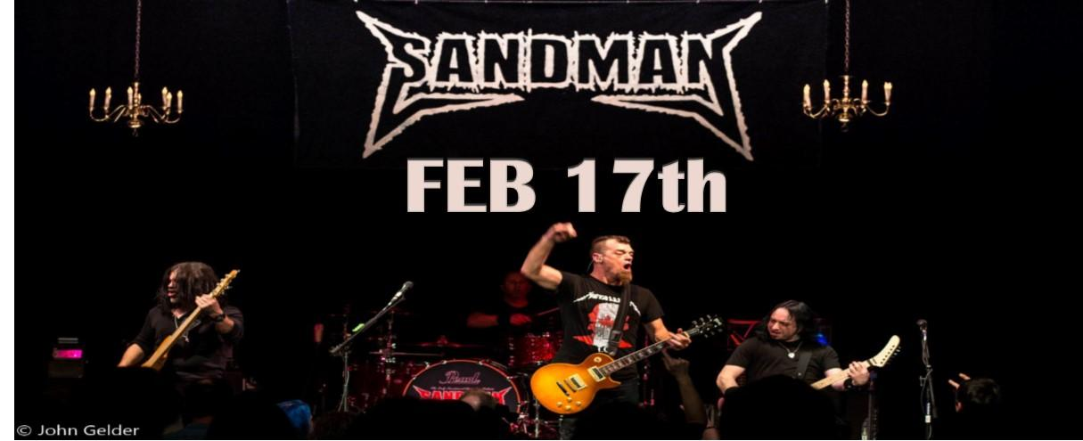 SANDMAN. THE ONLY METALLICA SANCTIONED TRIBUTE