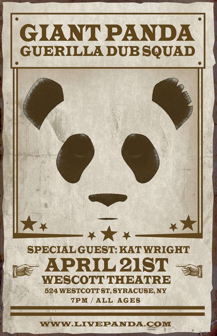 Giant Panda Guerilla Dub Squad @ Westcott The