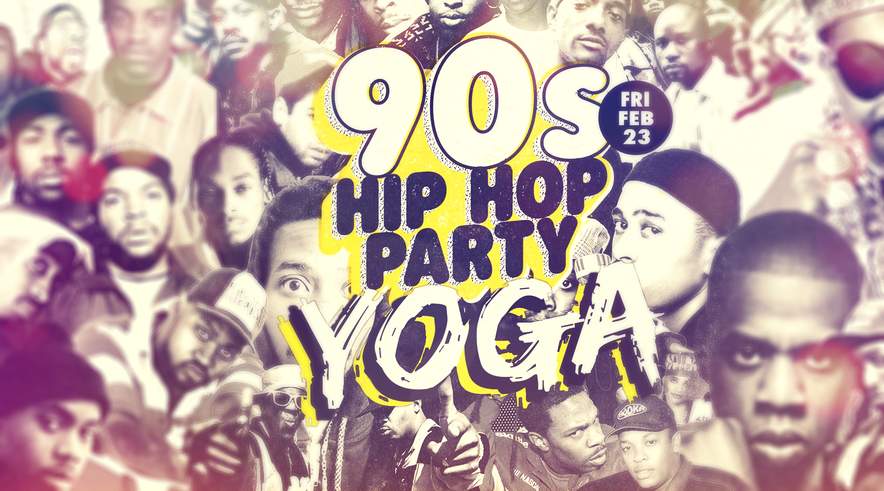 Beer & Yoga - 90s Hip Hop Party Edition