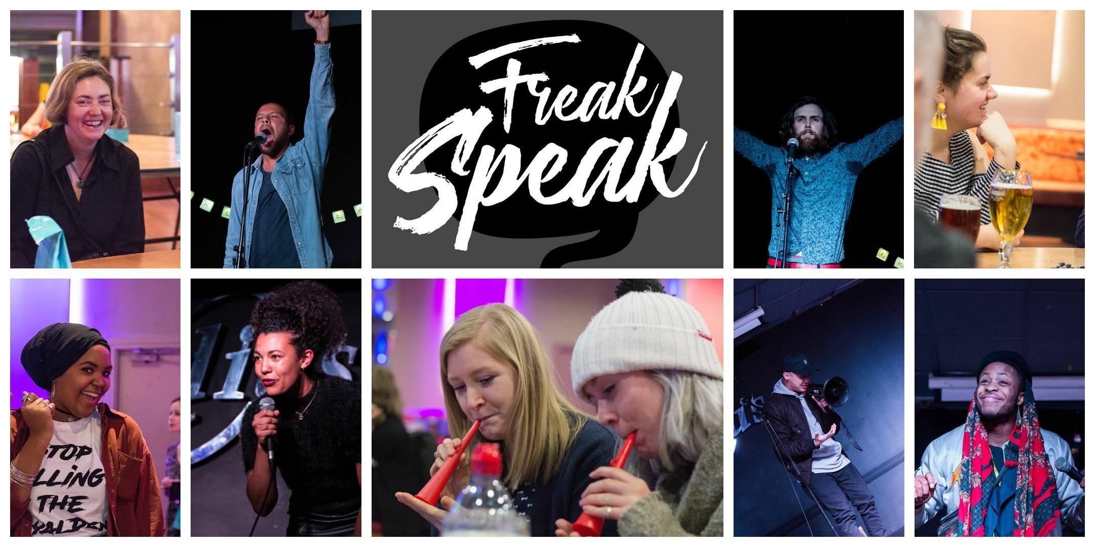 Freak Speak Launch Party
