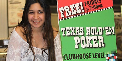 Free Poker Fridays - Meadowlands Racetrack - $100 Monthly Prize
