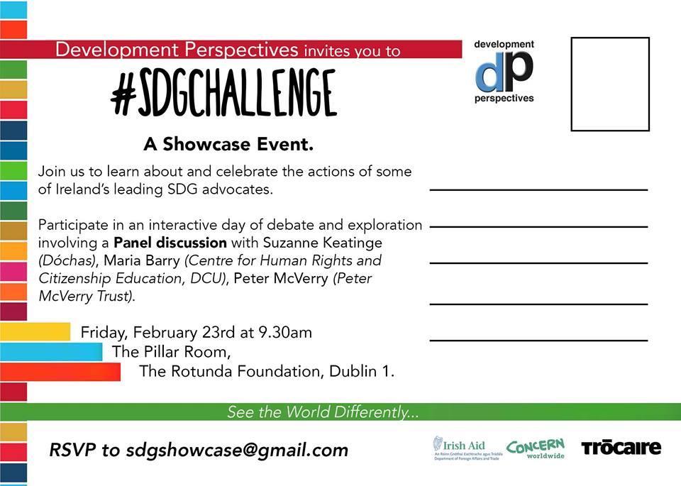 #SDGchallenge - A Showcase Event