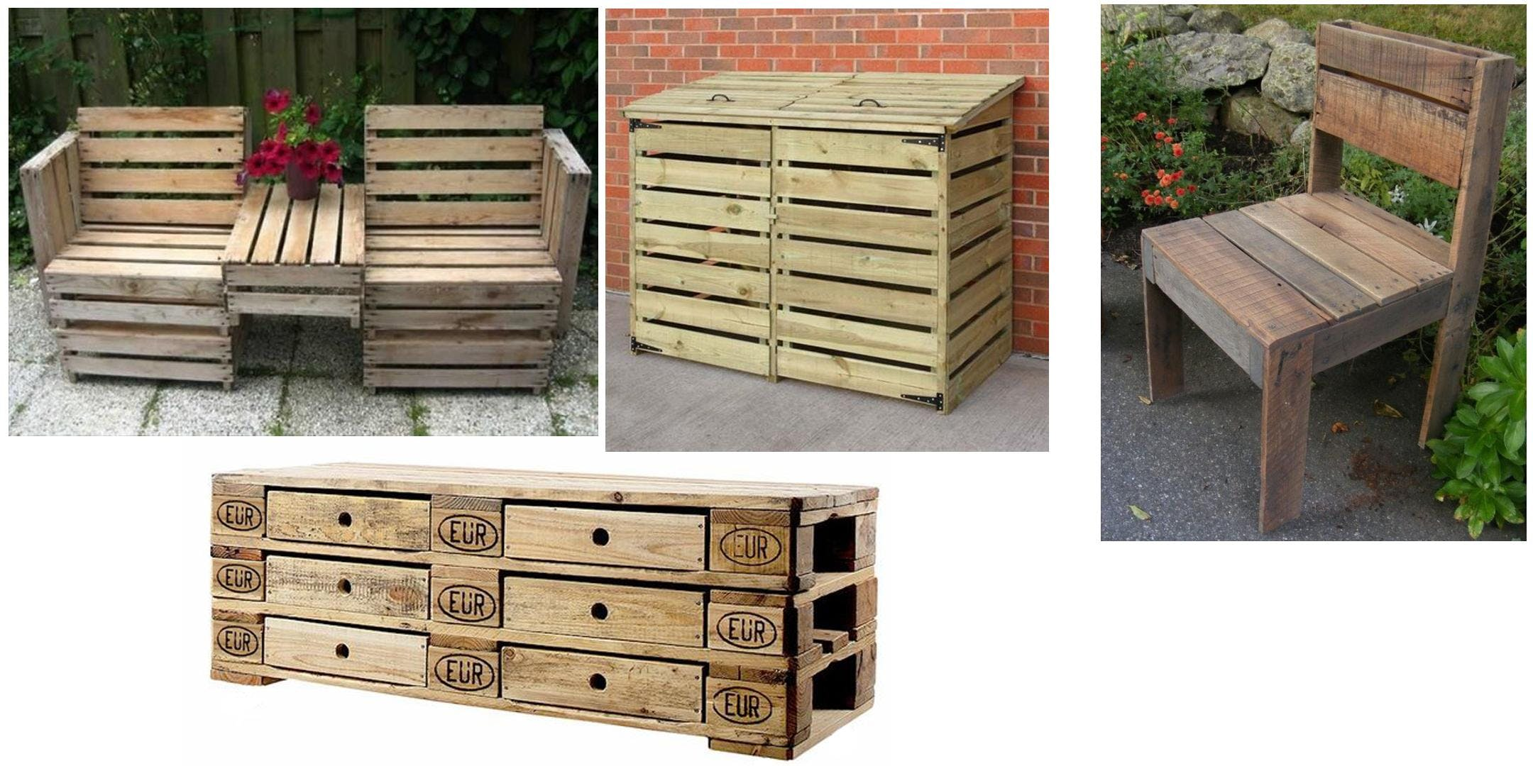 Pallet Upcycling - make a chair to take away!