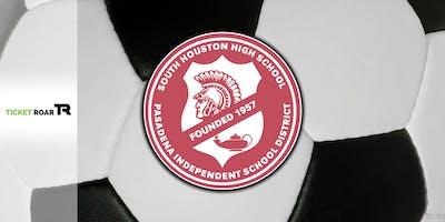 South Houston vs Pasadena Varsity Soccer (Boys)