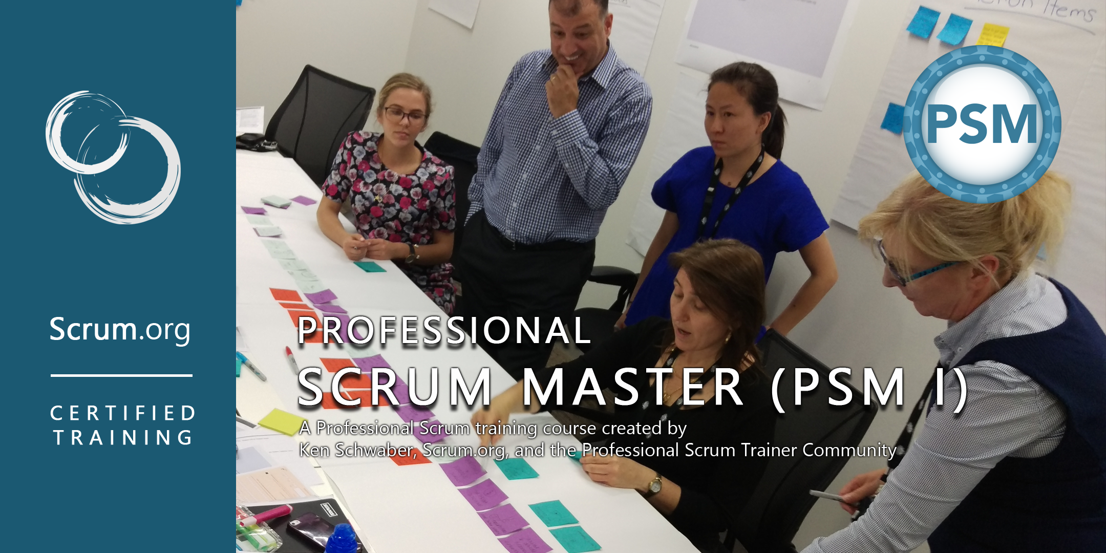 Professional Scrum Master Certification Psm Course With Scrum