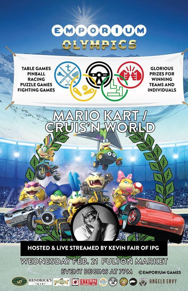2018 Emporium Winter Olympics: Mario Kart 8 D