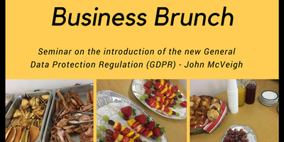 Business Brunch: Introduction to GDPR