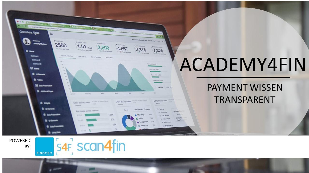 "ACADEMY4FIN: ""Payment Manager 2.0 - Anbieter,"