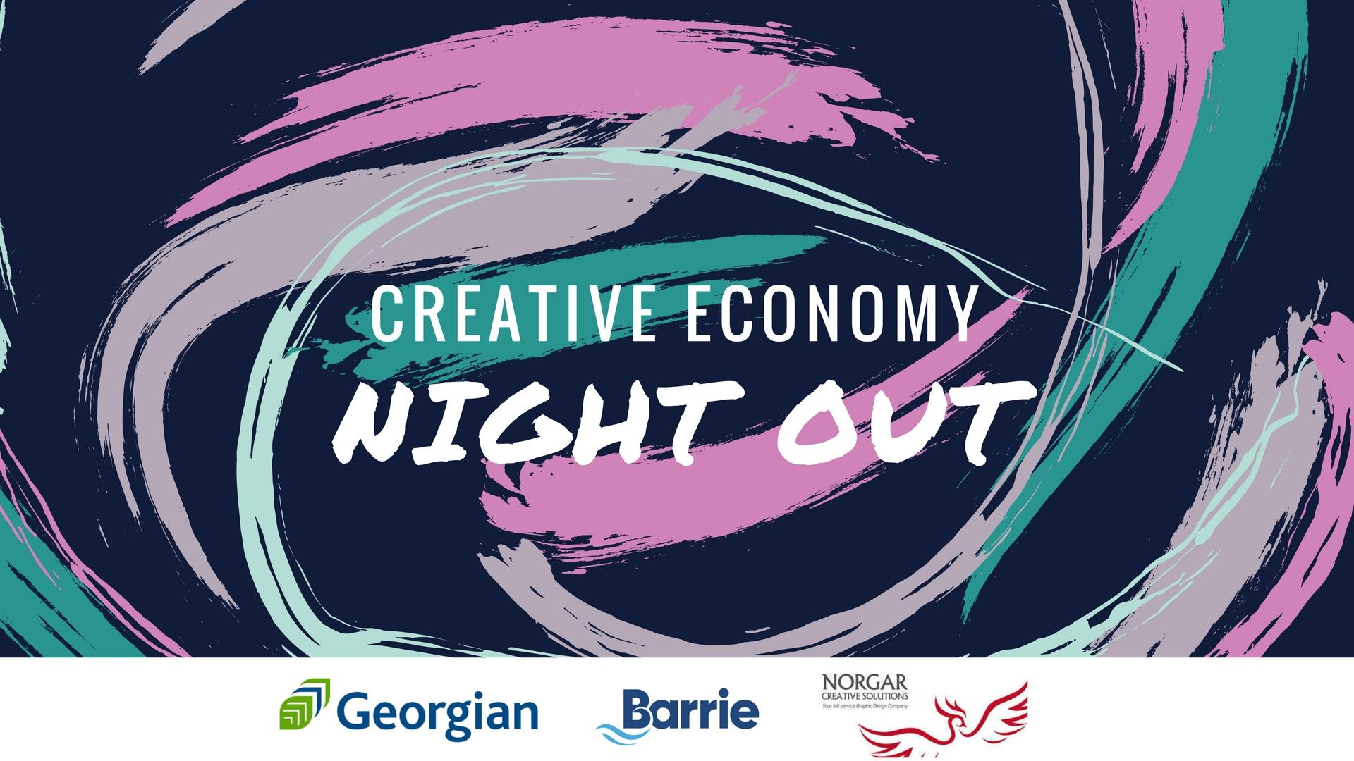 Creative Economy Night Out - February 2018