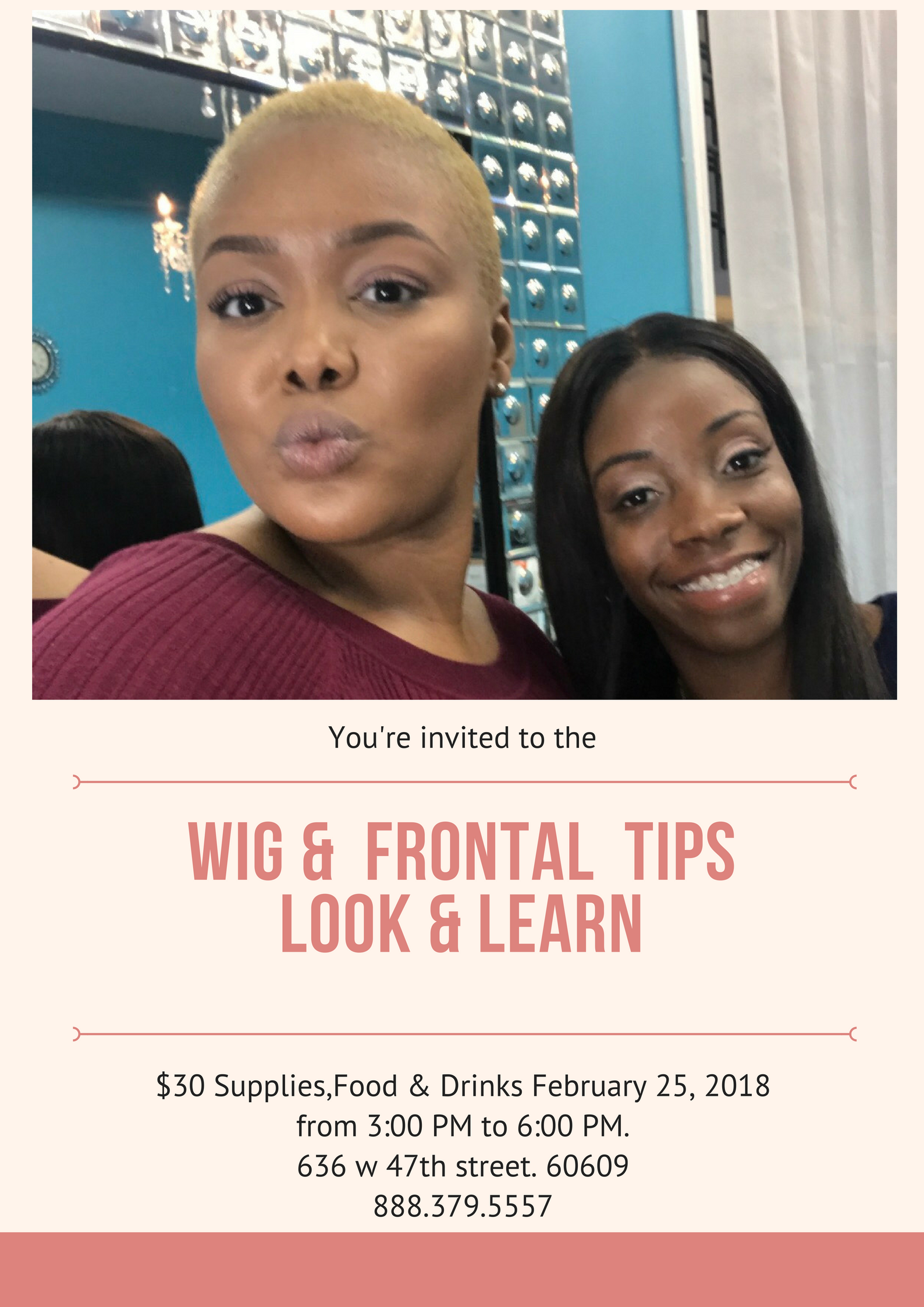 Lace Frontal & Wig Tips Look & Learn