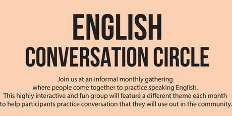 English Conversation Circle tickets
