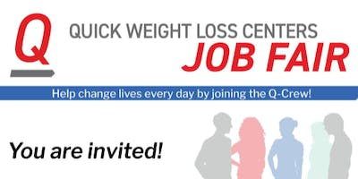 Quick Weight Loss Centers Job Fair February 1 Port St Lucie Vero