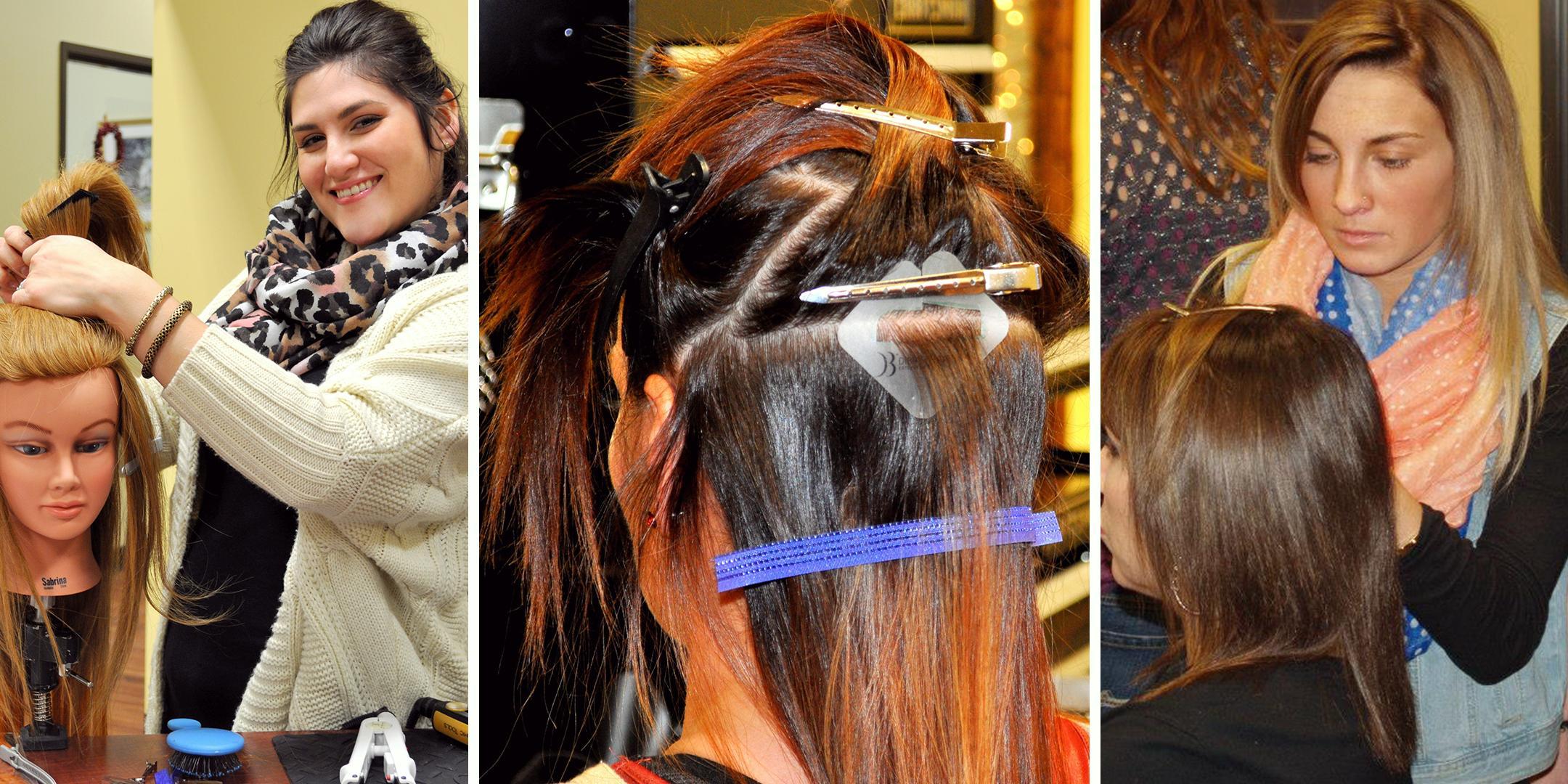 Miami Di Biase Hair Extension Certification Class 18 Feb 2018