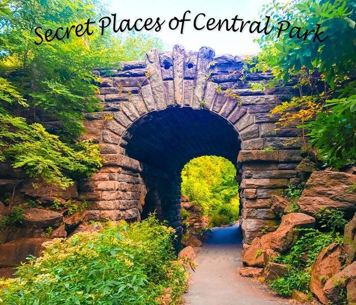 Secret Places of Central Park, Walking Tour - New York City