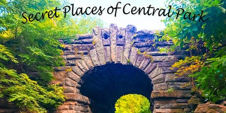 Secret Places of Central Park, Walking Tour - New York City tickets