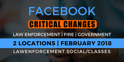 Facebook Update: Critical Changes You Need to Know! (Glendora PD)