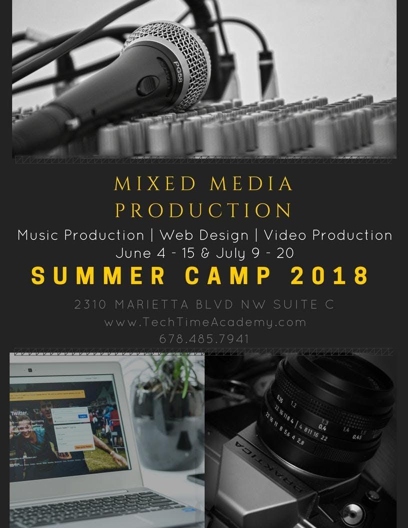 Mixed Media Summer Camp 2018