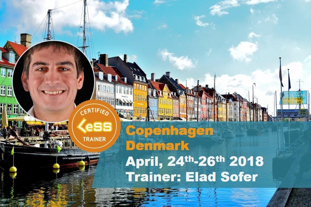 Certified LeSS Practitioner course (Copenhage