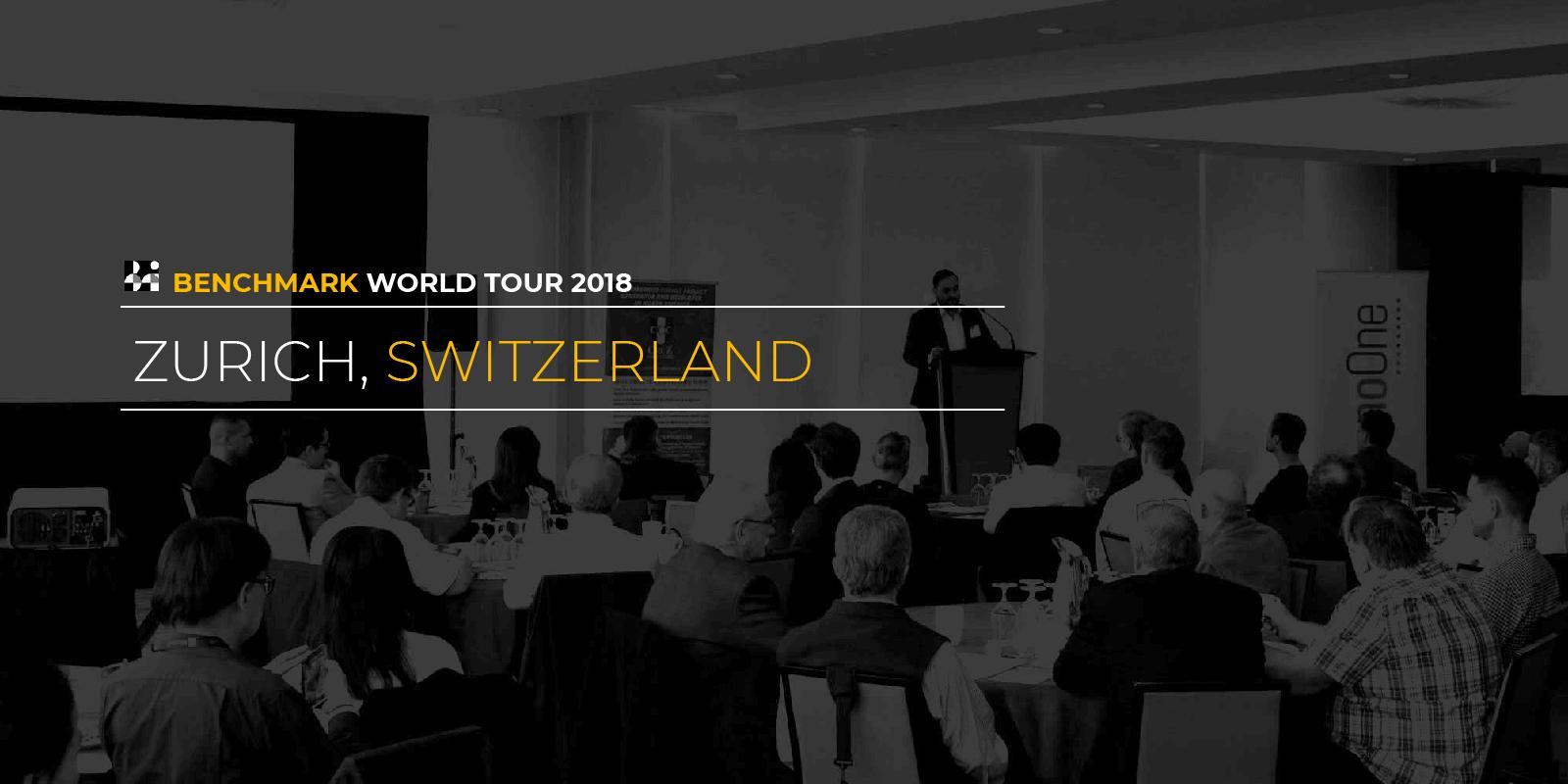 Benchmark World Tour 2018 - Zürich