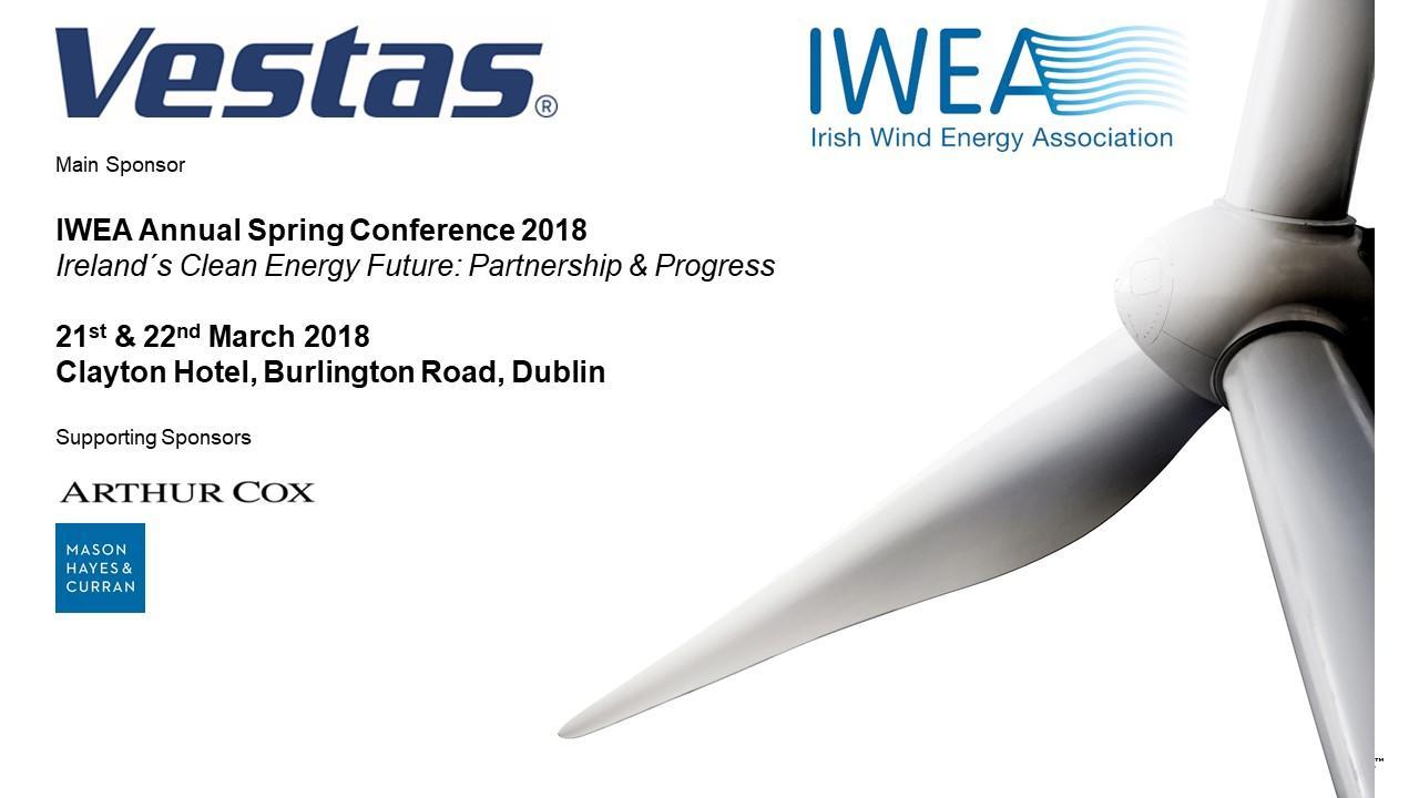 IWEA Annual Spring Conference 2018