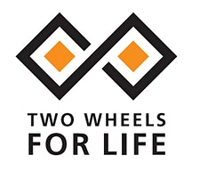 Two Wheels For Life logo