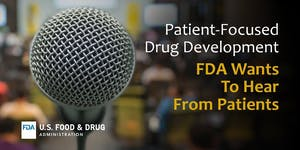 Public Meeting for Patient-Focused Drug Development on...