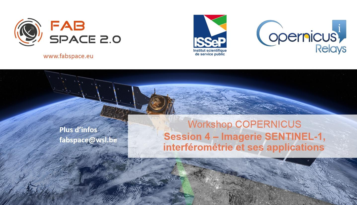 Workshop COPERNICUS - Session 4 - Imagerie SE