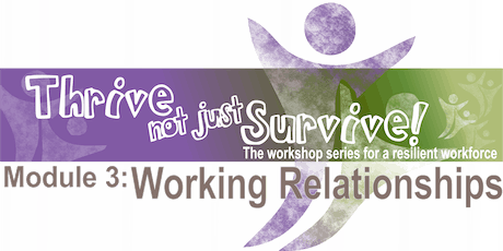 Working Relationships (Module 3) - Townsville tickets