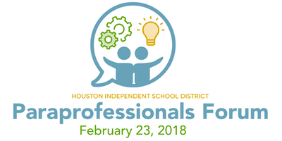 Paraprofessionals Forum (Non-instructional Staff)