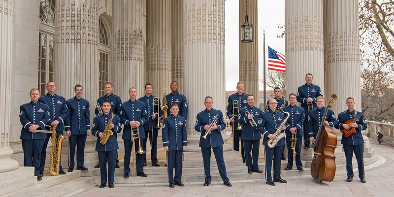 U.S. Air Force, Airmen of Note Jazz Band - Apr 30 - free concert at FHS