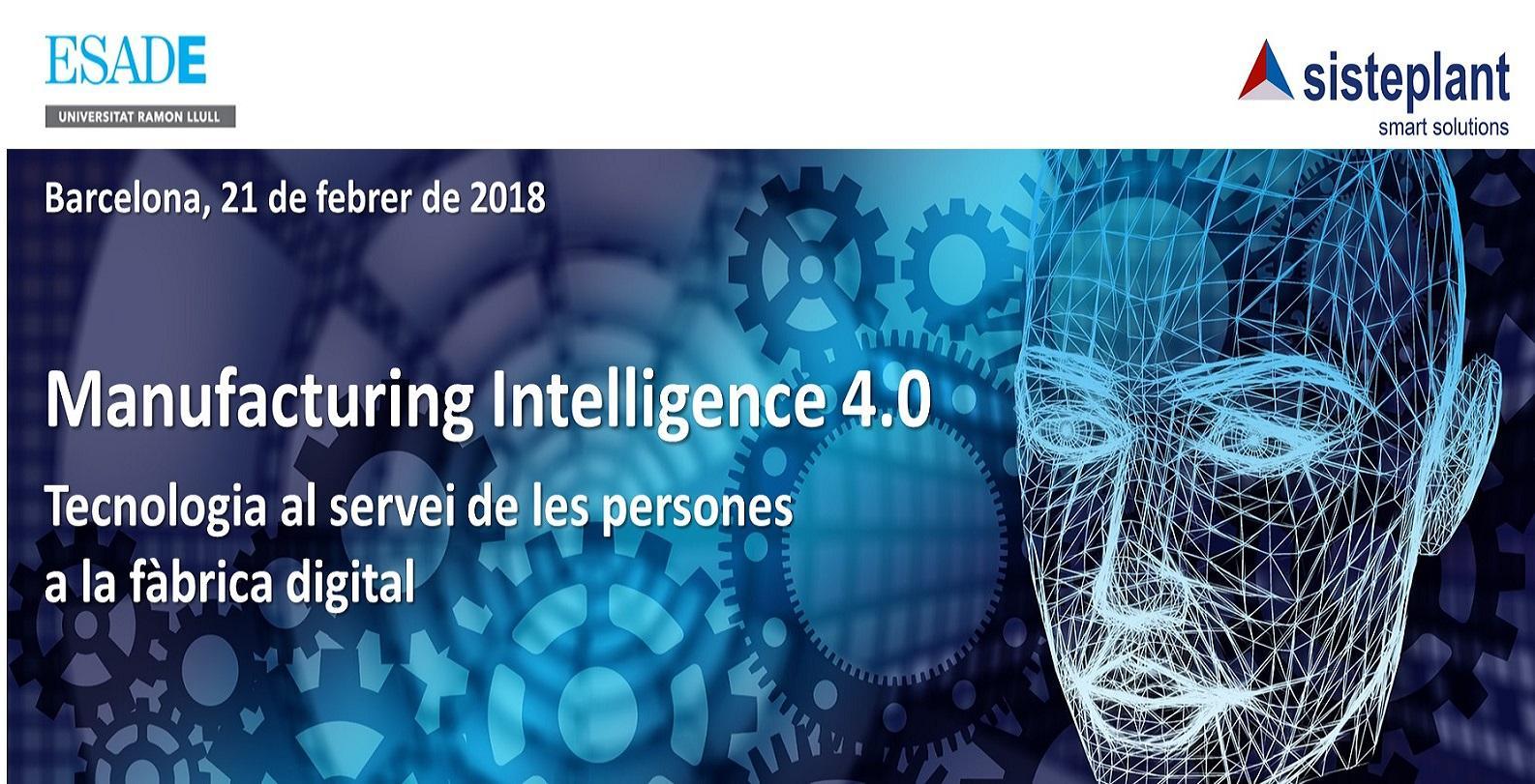 Encuentro Manufacturing Intelligence 4.0 - Ba