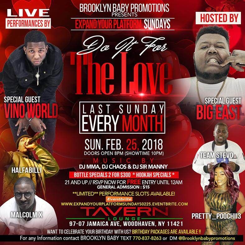 Brooklyn Baby Promotions Presents Expand Your