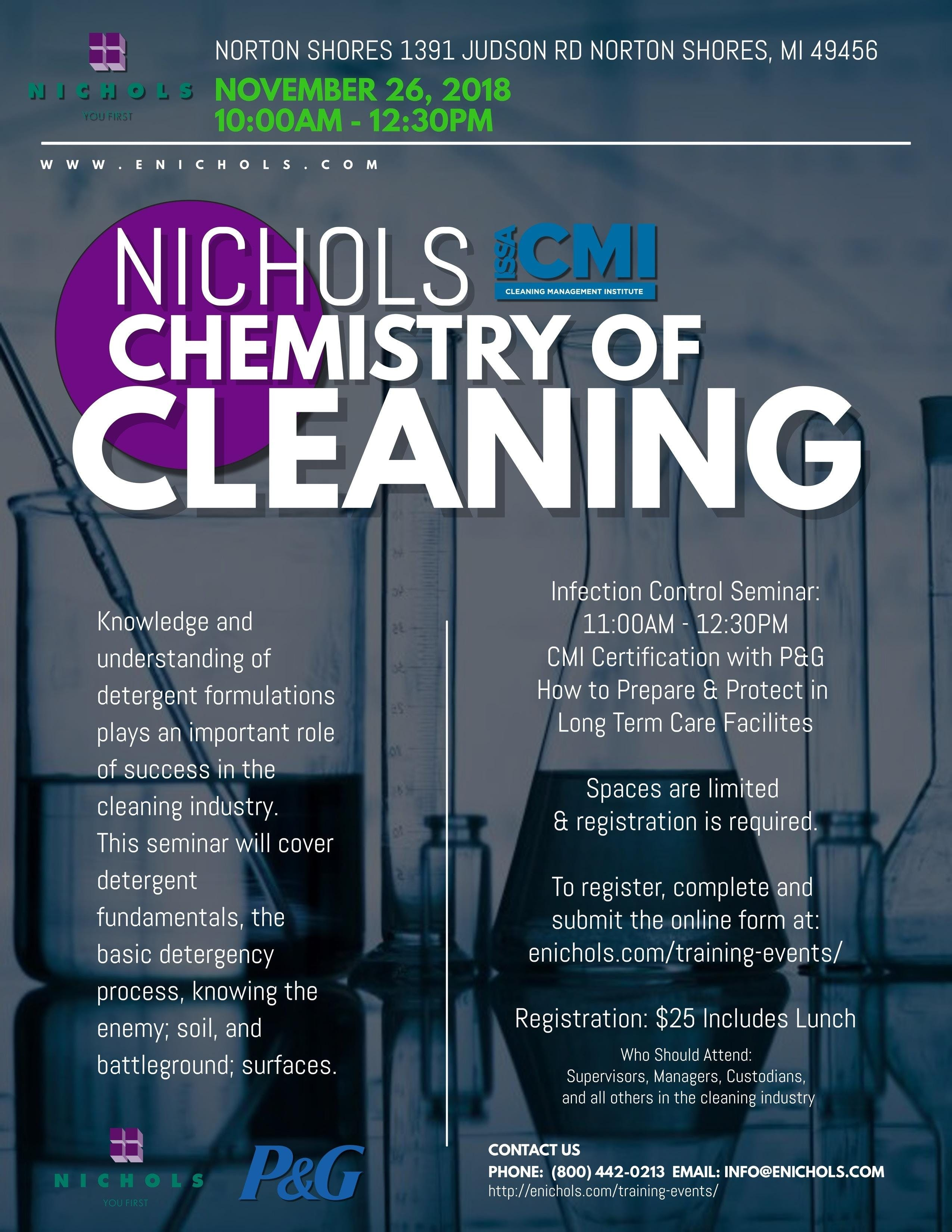 Norton Shores Chemistry Of Cleaning Issa Cmi Long Term Care