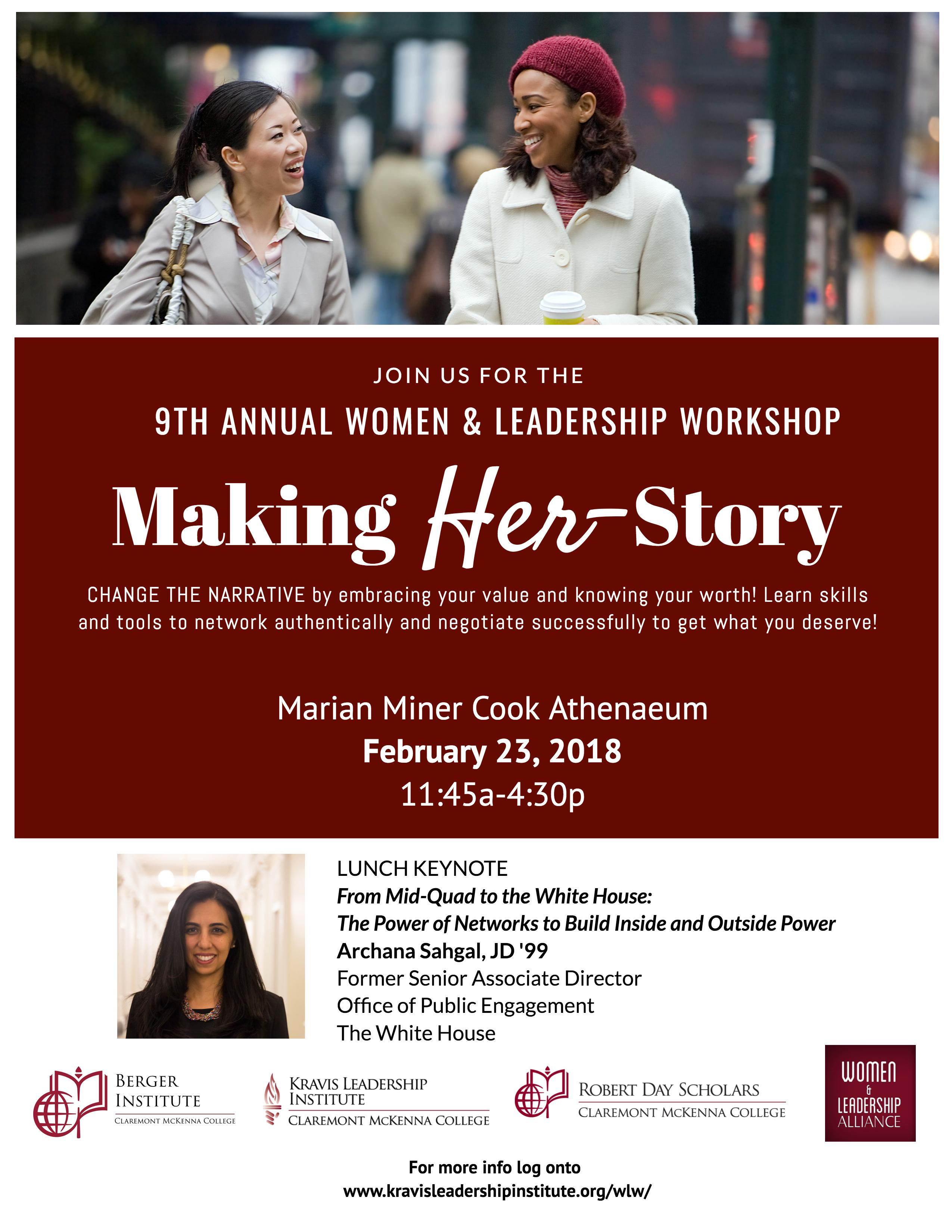 9th Annual Women & Leadership Workshop