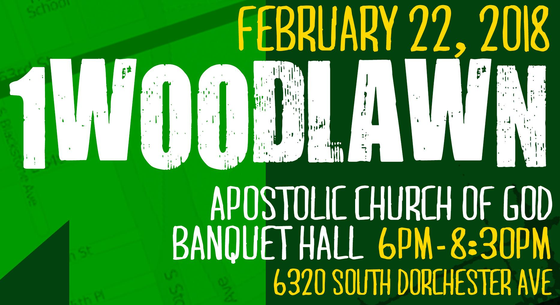 1Woodlawn Community Meeting #11 - Feb 22nd