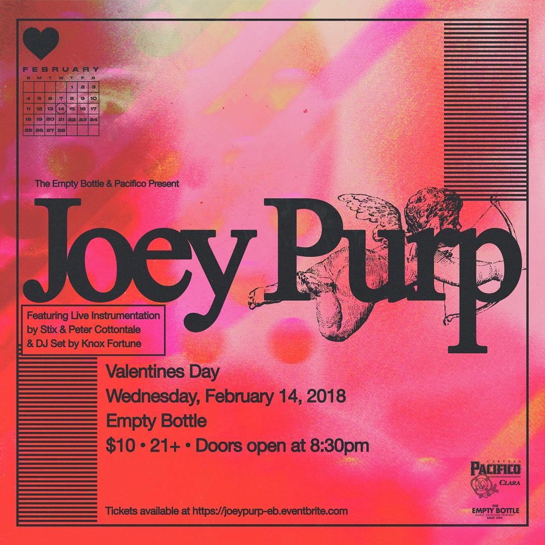 Joey Purp / Knox Fortune (DJ set) / DJ Thelonious Martin