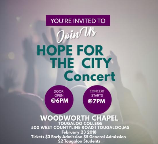 Hope for the City Gospel Concert