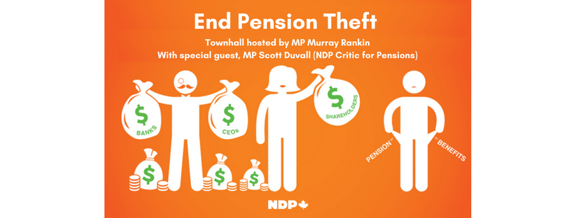 End Pension Theft Town Hall