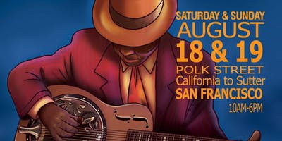 The 8th Annual Polk Street Blues Festival