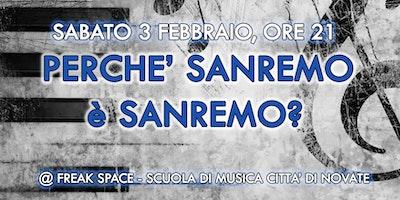 Scuola Di Musica Novate Milanese.Perche Sanremo E Sanremo Novate Milanese Sabato 3 Febbraio 2018 2