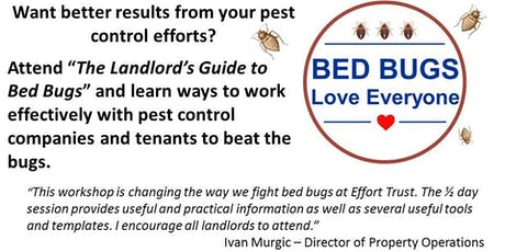 The Landlord's Guide to Bed Bugs tickets