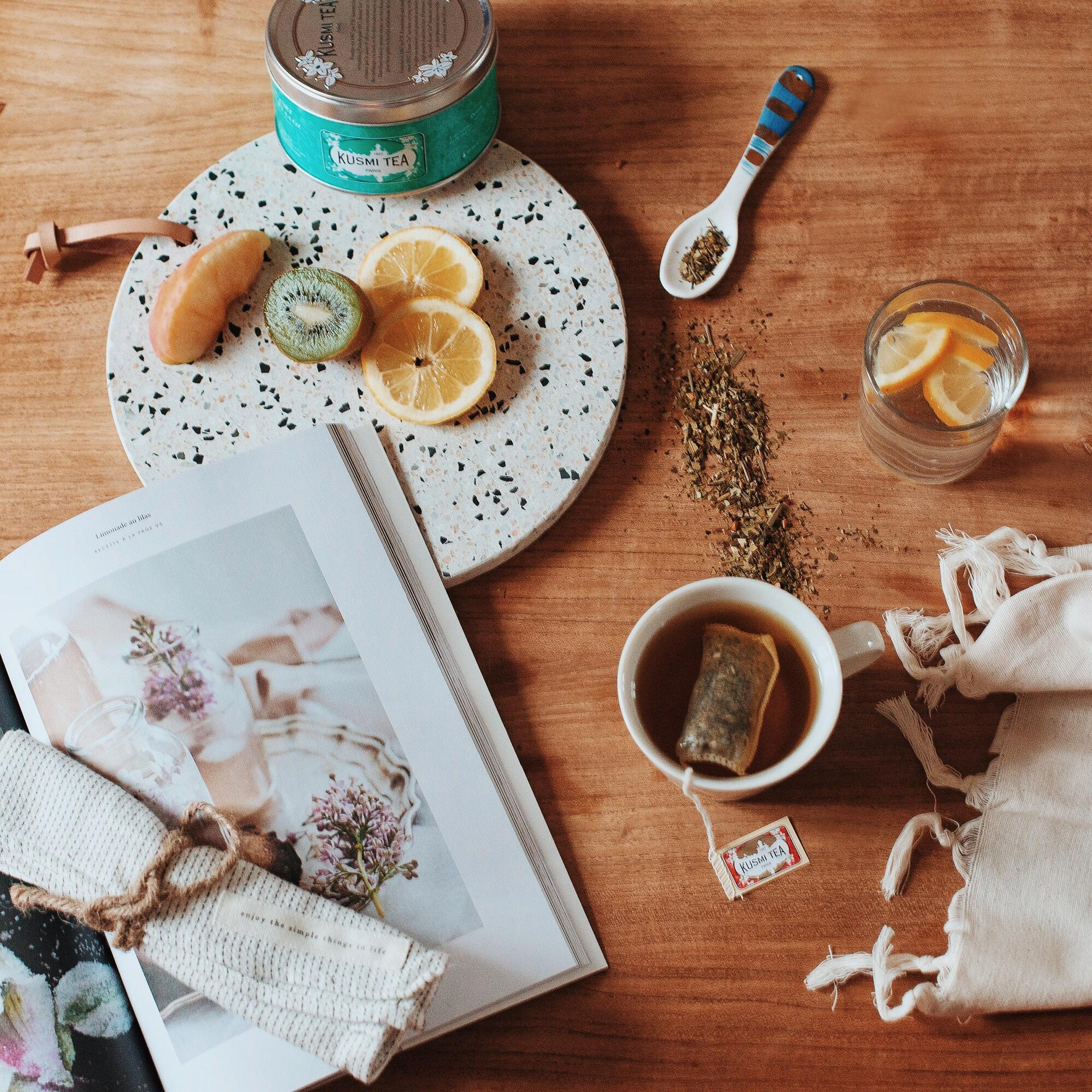 Dègustation gourmande Kusmi Tea