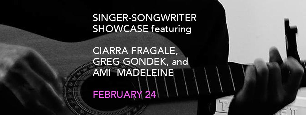 Singer-songwriter Showcase featuring Ciarra F