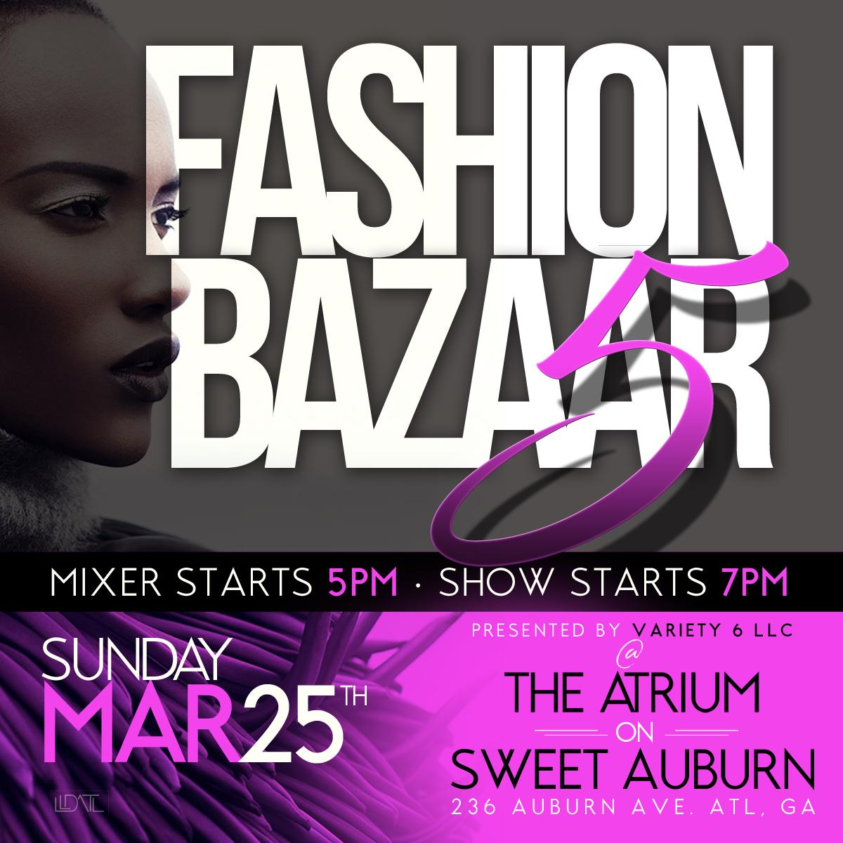 Fashion Bazaar V: The 5th Element