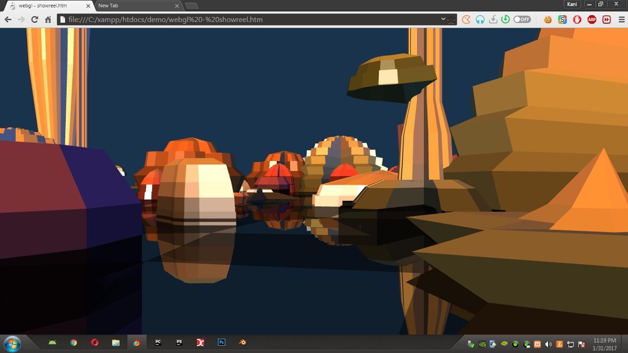 High performance WebGL