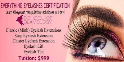 Houston, Ga Everything Eyelashes Certification