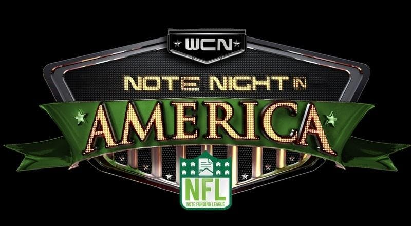 Note Night in Amercia - Chicago