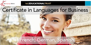 Certificate in Languages for Business - raise the take...